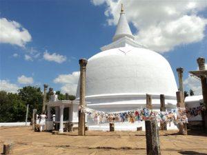 Anuradhapura ancient city unesco heritage site sri lanka lankaramaya