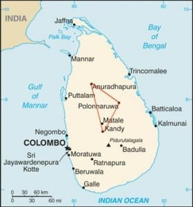 Sri Lanka Cultural Triangle and heritage sites