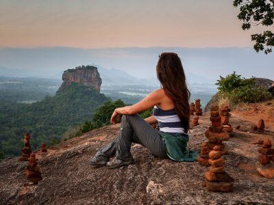 Sigiriya View from Pidurangala