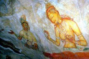 Sigiriya - apsara king kashyapa