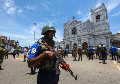 Sri Lanka terrorist attack Easter Sunday