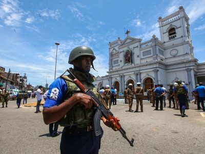 Sri Lanka terrorist attack Easter Sunday