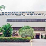 Katunayake international airport Sri Lanka (CMB)